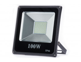 Refletor Led 100w Slim Smd Ip66 6500k Bivolt