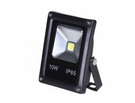 Refletor Led 10w Slim Ip66 6500k Bivolt